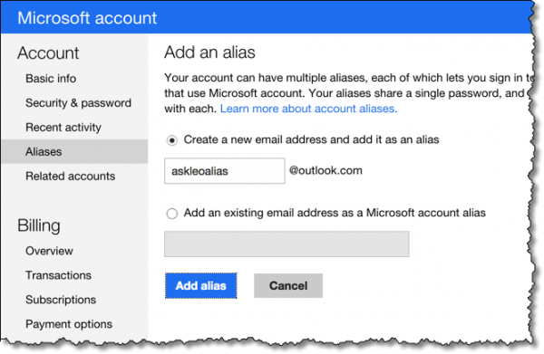 How do I Rename my Hotmail Email Address?
