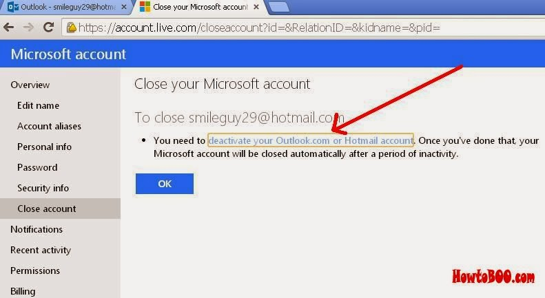 how do i delete an email account from my iphone how to delete hotmail account permanently 3025